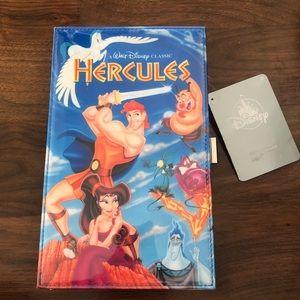 BNWT Disney Hercules VHS Style Clutch